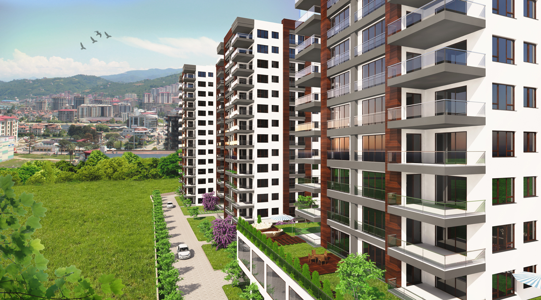 TRABZON TOWERS